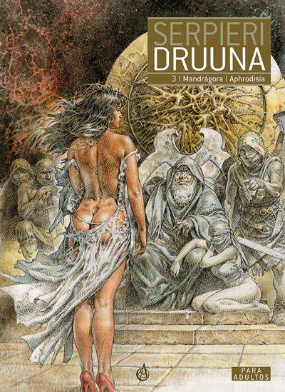 capa do tomo 3 de Druuna